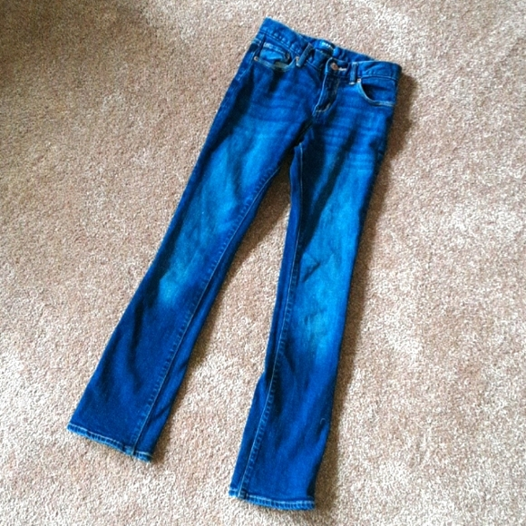 Old Navy girls 12S bootcut blue jeans